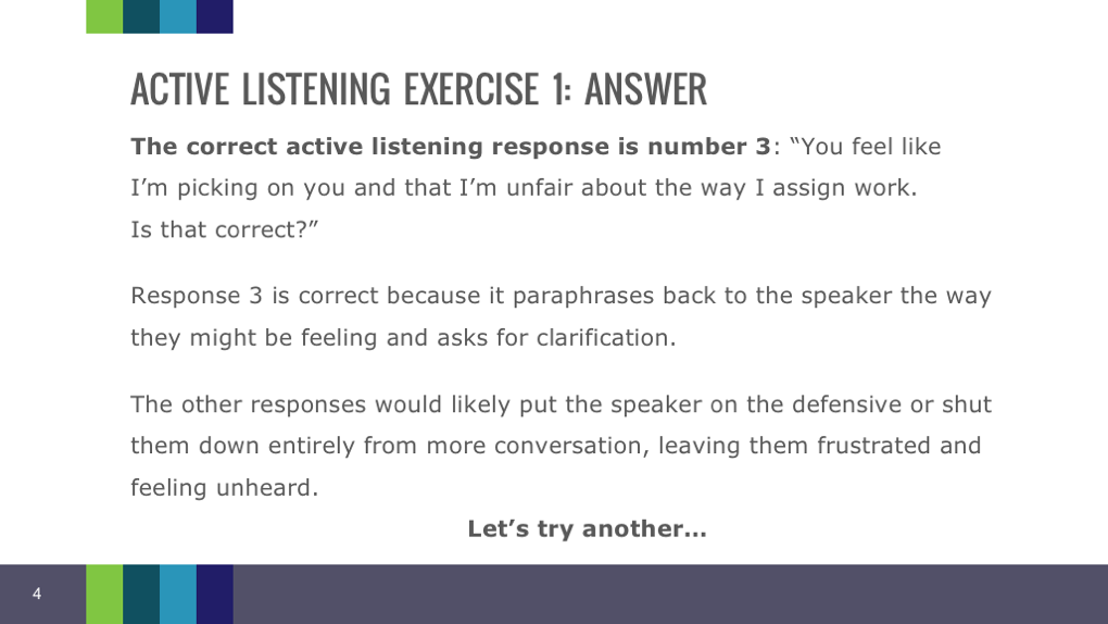 6 Listening Skills Exercises To Promote Stronger Communication
